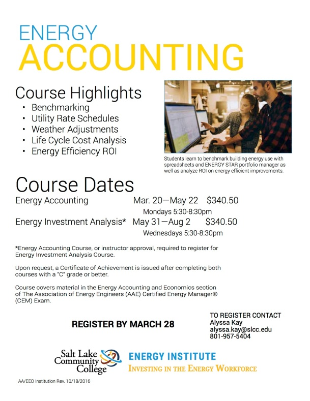 Energy Accounting Web