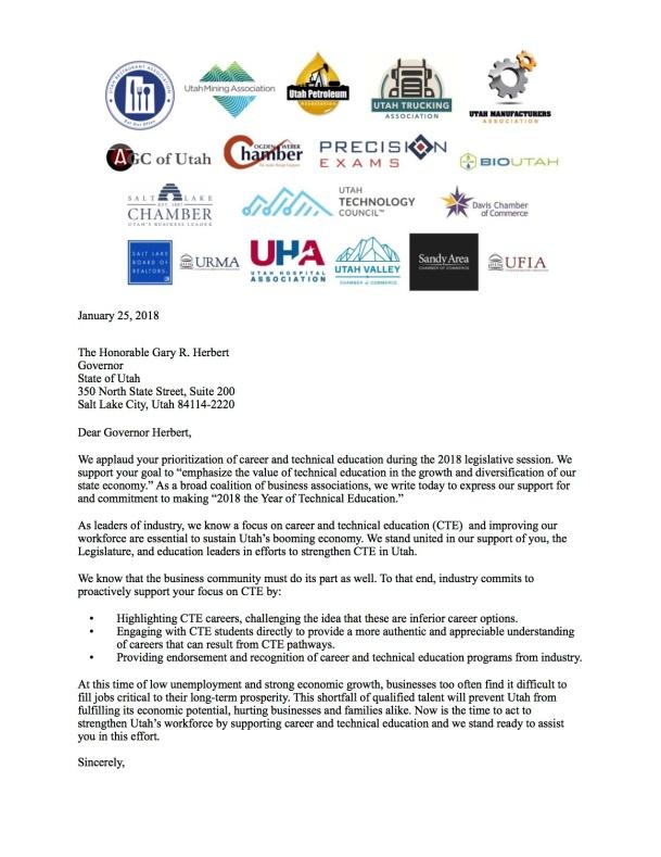 Utah CTE Letter FINAL