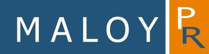 Maloy PR logo